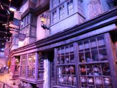 Diagon Alley - Warner Bro's Studio Tour, London