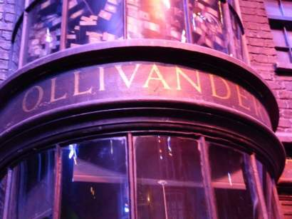 Ollivander's Wand Shop - Warner Bro's Studio Tour, London