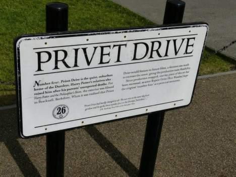 Good Ole Privet Drive - Warner Bro's Studio Tour, London