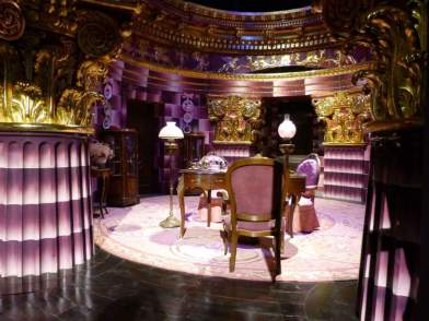 The Evil Pink Queen's Lair - Warner Bro's Studio Tour, London