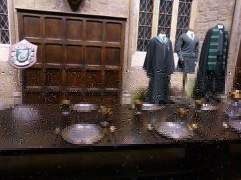 My table; Slytherin - Warner Bro's Studio Tour, London