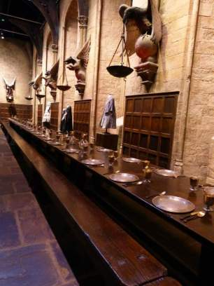 The Great Hall, Hogwarts - Warner Bro's Studio Tour, London