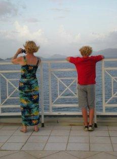 Enjoying the view: St. Thomas, US Virgin Islands