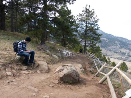 Stop to 'Gram. Hiking in Boulder, CO